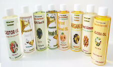 100% PURE ORGANIC NATURAL CARRIER OILS COLD PRESSED 1, 2, 4, 8oz & up FREE SHIP