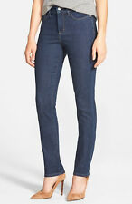 NEW nydj Not Your Daughters Jeans Samantha Slim Straight Everett blue 12 14 16