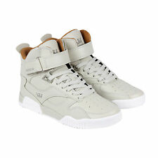 Supra Bleeker Mens Tan Leather High Top Lace Up Sneakers Shoes