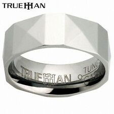 Bee Tungsten Band Trueman Carbide Mens Ring Size 8.25-13.25