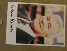 William Russell signed postcard