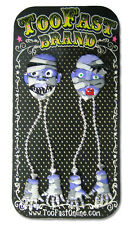Too Fast Mummy Love Earrings Goth Horror Emo Punk Rockabilly Tattoo Pinup Rave