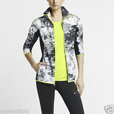 Nike Womens Printed Trail Kiger Dri-FIT Reflective Running Jogging Casual Jacket