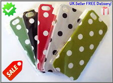 Polka Dot Case Cover for Apple iPhone 5 5s FREE Screen Protector FREE Postage