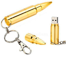 Metal Bullet USB 2.0 Flash Memory Drive Disk (Stick/Pen/Thumb) 256GB 512GB 1TB