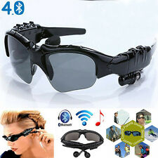 Wireless Stereo Bluetooth 4.1 Sunglasses NightGlasses Headset Earphone Headphone