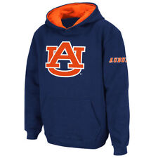 Auburn Tigers Stadium Athletic Youth Big Logo Pullover Hoodie - Navy - NCAA