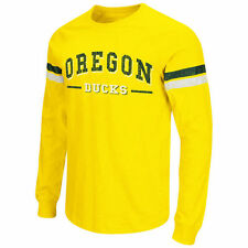 Oregon Ducks Colosseum Huddle Up Long Sleeve T-Shirt - Yellow - College
