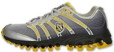 K-SWISS 92281-017 TUBES RUN 100 WMN's (M) Black Fade/Yellow Mesh Running Shoes