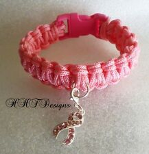 Breast Cancer Awareness Survival Bracelet ~Assorted Sizes