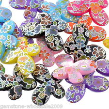 Wholesale Lots Acrylic Spacer Beads AB Color Flower Pattern Butterfly Mixed
