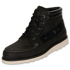 TIMBERLAND 27581 NEW MARKET 5 EYE Men's (M) Blk/Nr Nubuck Casual Ankle Boots