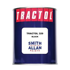 Tractol 329 Synthetic Enamel Chassis Paint Black 1 ltr