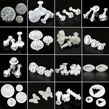 Hot Fondant Cake Mold Plungers Sugarcraft Cookies Paste Cutter Decorating Tools