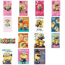 Minion Birthday Card Collection