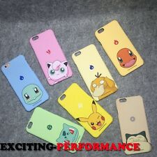 Cute Case Cover Cartoon Collection Pokemon Pikachu Hard Back For iPhone6 6S Plus