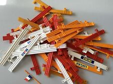 Lot Of 60 Scalextric Armco Barriers Fence Rails Good Condition Free P&P