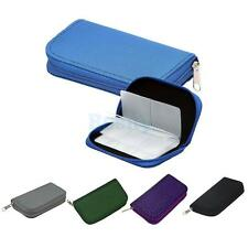 22 Slots SD/CF/XD Microdrive Memory Card Storage Pouch Case Holder Wallet Bag