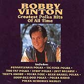 Bobby Vinton - Greatest Polka Hits of All Time (CD, Curb) Beer Barrel Polka
