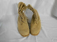 Altama PJ 10-03 5400 Mens Tan Leather Canvas Military Boots Size 13 XW