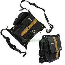 Men Oxford Travel Motorcycle Messenger Hip Belt Fanny Pack Waist Drop Leg Bag