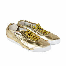 Onitsuka Tiger Mexico 66 Mens Metallic Synthetic Lace Up Sneakers Shoes