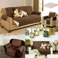 1 2 3 SEATER SOFA SLIP COVER QUILTED FURNITURE PET PROTECTOR THROW COVERING MAT