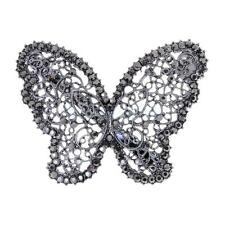 Bridal Wedding Hair Clips Crystal Rhinestone Butterfly Barrette Hairpin Jewelry