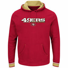 San Francisco 49ers Majestic Championship Pullover Hoodie - Scarlet - NFL