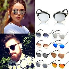 Womens Mens UV400 Sunglasses Vintage Style Retro Classic Eyewear Hot Sale LEBB