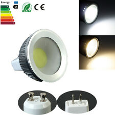 GU10 MR16 4W COB Bulb Spot Light Dimmable DC12V 85-265V Cool/Warm White Lamp NEW