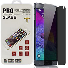 Privacy Anti-spy Tempered Glass Screen Protector For Samsung Galaxy S5 S6 Note 4