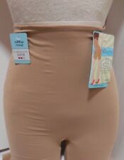NWT Assets by Spanx Fantastic Firmers Short Shaper Mid Thigh #1646 Beige Sand