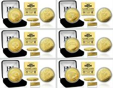 Choose Your NFL Football Team 2016 Commemorative Gold Medallion Game Flip Coin