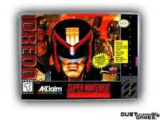 Judge Dredd Super Nintendo SNES Game Case Box Professional Quality!!!