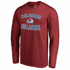 Colorado Avalanche Victory Arch Long Sleeve T-Shirt - Maroon - NHL
