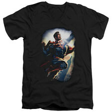 Superman Clark Kent Superstar Mens V-NeClark Kent Shirt