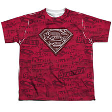 Superman Super Powers Big Boys Sublimation Shirt