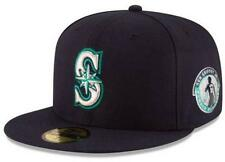 Seattle Mariners Ken Griffey Jr Number Retirement New Era 59FIFTY Fitted Hat