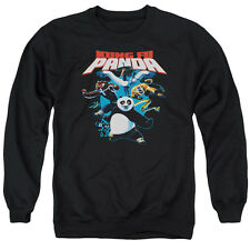 Kung Fu Panda Kung Fu Group Mens Crewneck Sweatshirt