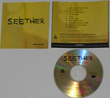 Seether - Isolate &  Medicate - Advance CD With Alternate Cover Art