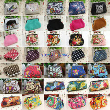 New Womens Girls Small Wallet Coin Change Purse Hasp Clutch Card Holder Handbag