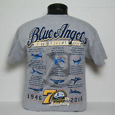 2016 US Navy Blue Angels 70th Anniversary Tour T-Shirt