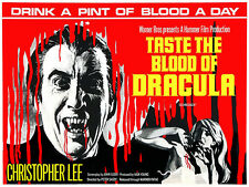Taste The Blood Of Dracula - 1970 - Movie Poster