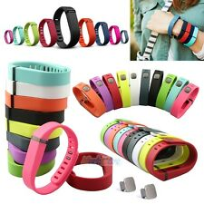 10 PCS Small/Large Replacement Wrist Band Wristband for Fitbit Flex w/ Clasps US