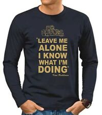 "KIMI RAIKKONEN ,,LEAVE ME ALONE I KNOW WHAT I'M DOING"" F1 LONG SLEEVE T SHIRT"