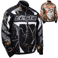 Castle X Bolt Realtree G4 Mens Snowmobile Winter Snow Skiing Sled Coat Jacket