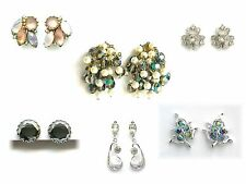 Designer Vintage Earrings - Bogoff, Kramer, Marvella, Uncas, S. Coventry, Espo
