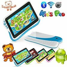 "Smart Bear Kids Pad 7"" Durable Dual Core Tablet Learning Software Drop PINK BLUE"