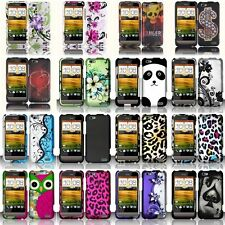 Hard Phone Case Protective Snap-On Plastic Cover Skin For HTC One V